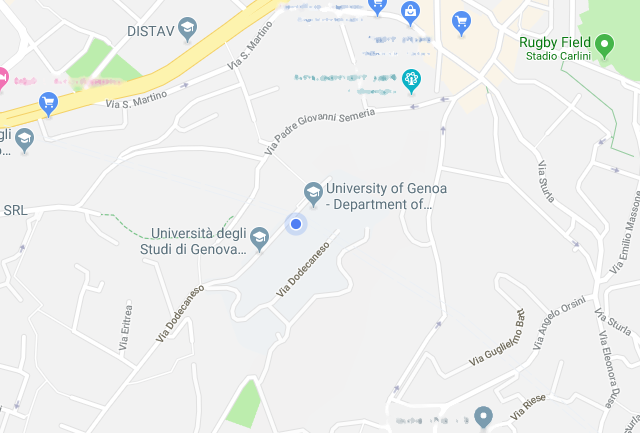 Department neighborhood map