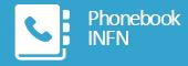 Phonebook INFN