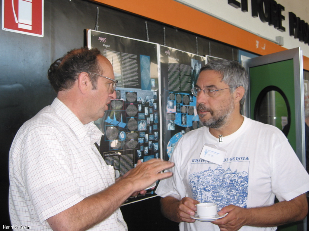 Luglio 2005 Atlas Upgrade Workshop Genova con Abe Seiden